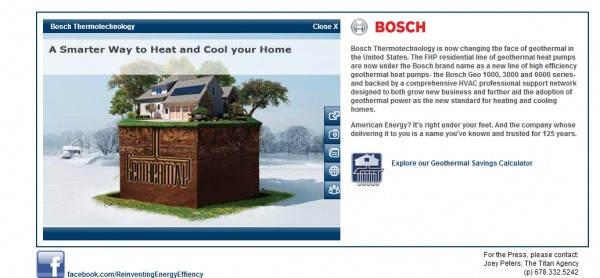 Bosch Thermotechnology: Creating the Difference