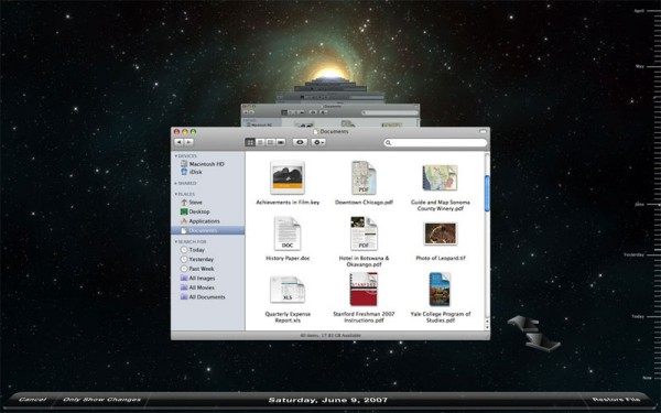 Backing-up on an Apple Mac