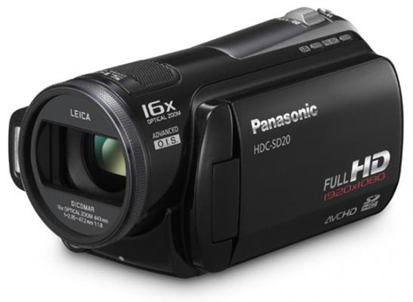 Panasonic HD SD20 - Great For A Small Budget