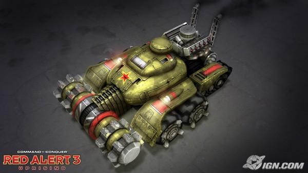 Red alert 3 uprising-command and conquer