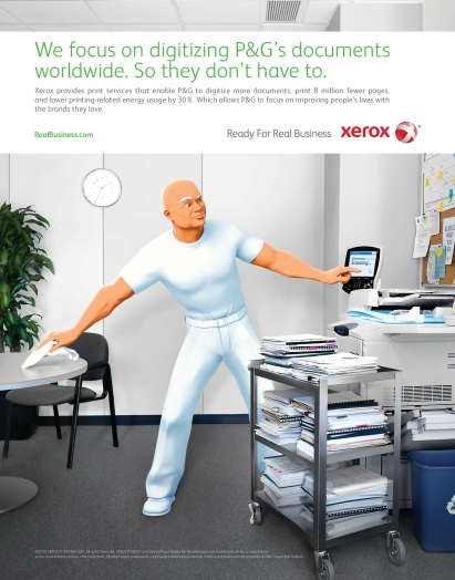 mr clean xerox