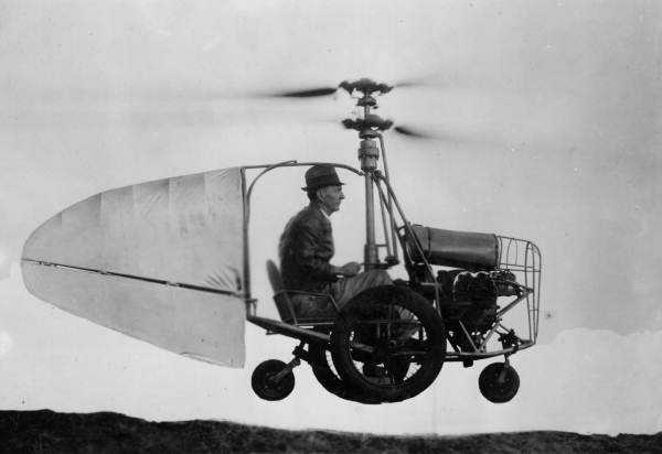 A Brief History of Flying Cars