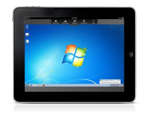 Access Desktop On iPad with Desktop Connect Application