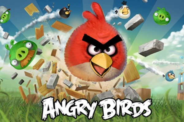 Angry Birds Application on IPhone