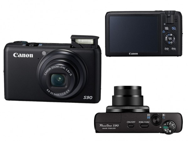 Canon PowerShot S90IS