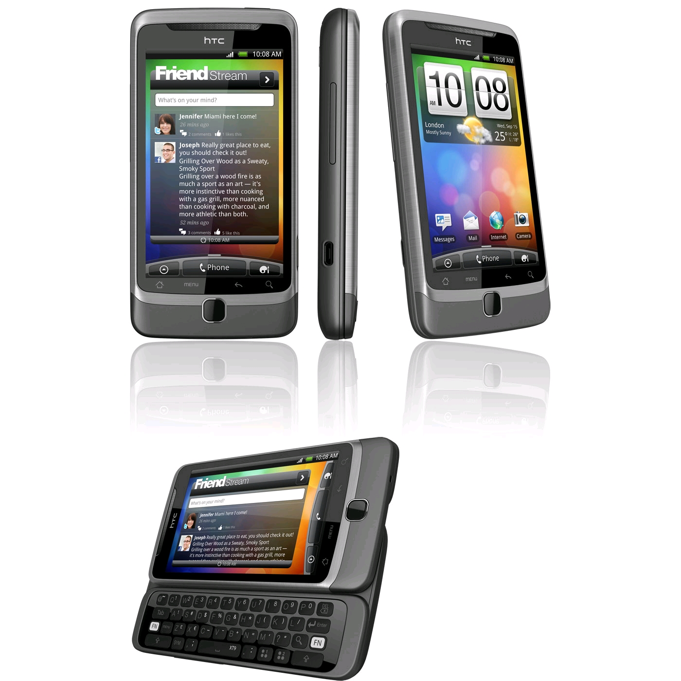 HTC Desire Z HTC Desire Z 1 u2013