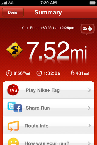 Nike+GPS Application Review
