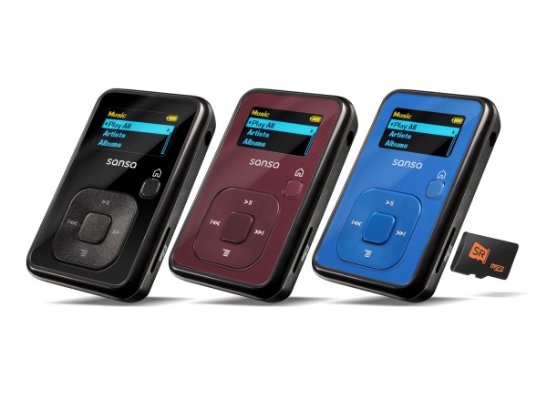 SanDisk Sansa clip, Mp3 player