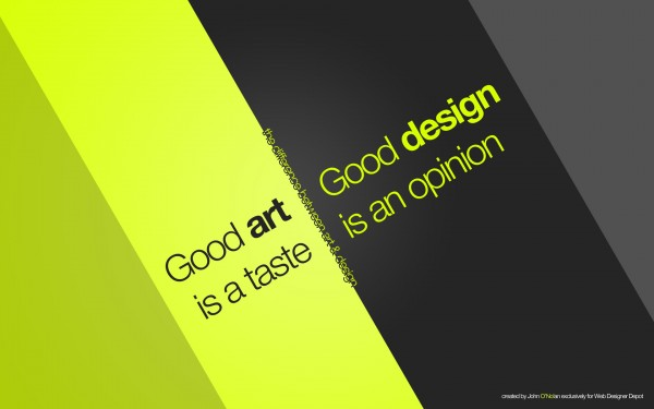 The Deviation between Artists and Designers