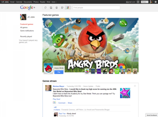 How to Play Angry Birds on Google+