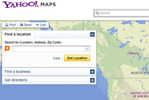 New Yahoo Maps Goes Live Powered By Nokia