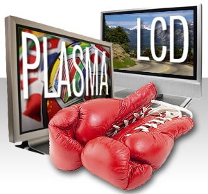 LCD vs. Plasma Screen TV