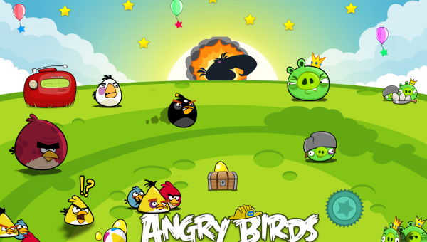 Angry Birds - Now on your desktop