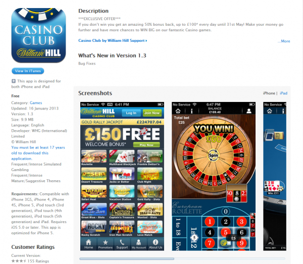 The New William Hill Casino Club App is Your Gateway to Great Gambling