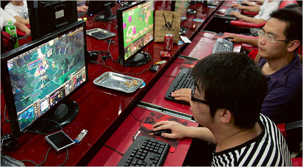 rise of online gaming