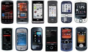touchscreen phones