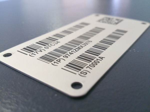 Applications for Stainless Steel Bar Code Labels
