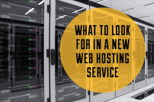 What To Look For In A New Web Hosting Service