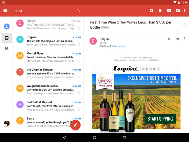 Benefits Of Using Gmail Android App
