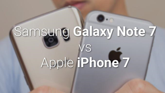 Battle Of The Phablets - Galaxy Note 7 vs. iPhone 7 Plus