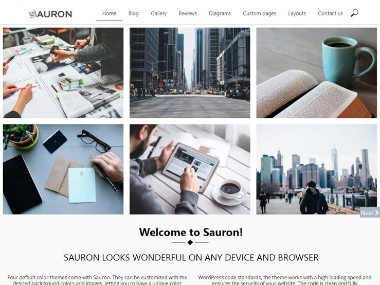 sauron theme