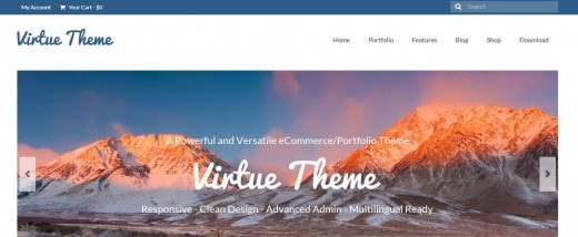 virtue theme