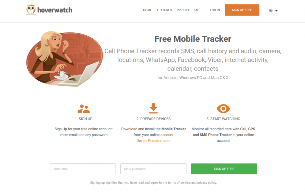 Parental Control Software: Free Hoverwatch Mobile Tracker-A Review