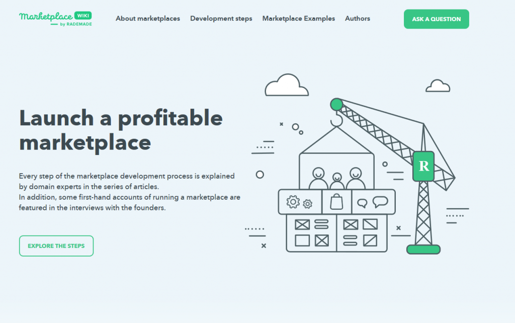 Wiki.Rademade.com: Building A Marketplace Without Errors and Disappointments