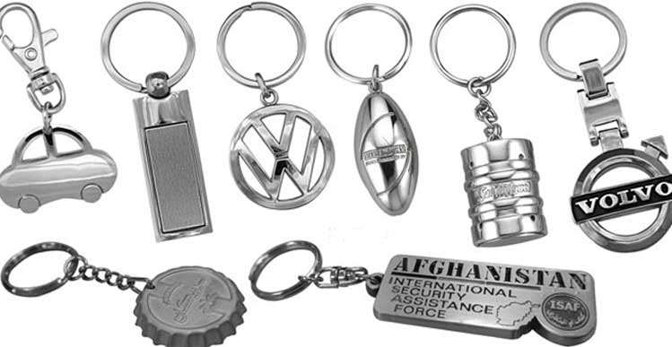 Custom Metal Keyrings: Your Logo Seen by Thousands Of People Everyday