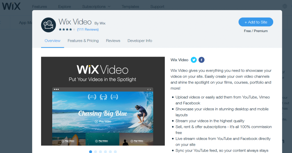 Wix Video: Adding Videos, A Proven Metric To Improve The Time Spent On A Webpage
